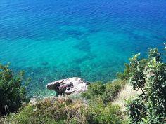 Clear blue sea, Zaton Mali Croatia