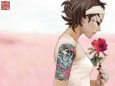 Tattoo Illustrations by Zhang Xiaobai | Cuded