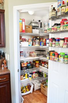 Real Life Pantry Org