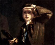 Joshua Reynolds · Autoritratto · 1748 ca · National Portrait Gallery · London