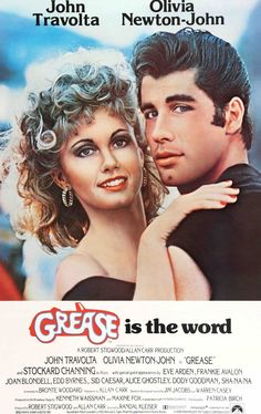 Grease - Starring John Travolta and Olivia Newton-John. Kind of a Broadway show on the screen. Got-to-watch movie/ Grease filmi müzik, şov ve aşkı birleştiren tam bir Broadway şovu misali. John Travolta, Grease Movie, Grease 1978, Grease Musical, The Grease, Rizzo Grease, Grease Style, Childhood