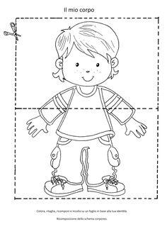 Body Parts Preschool Activities, Body Preschool, Preschool At Home, Preschool Learning, Learning Activities, Activities For Kids, Learn Arabic Alphabet, Family Theme, Classroom Jobs