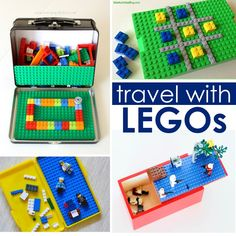 LEGOS: 75  Ideas, Tips and Hacks - great site, really liked these travel ones.