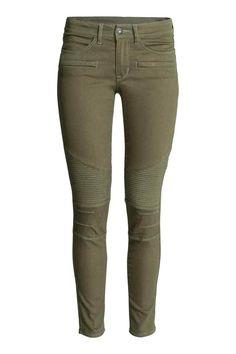 Pantalon de style motard | H&M