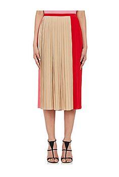 Gauchere Accordion-Pleated Skirt - on #sale 75% off @ #BarneysWarehouse…