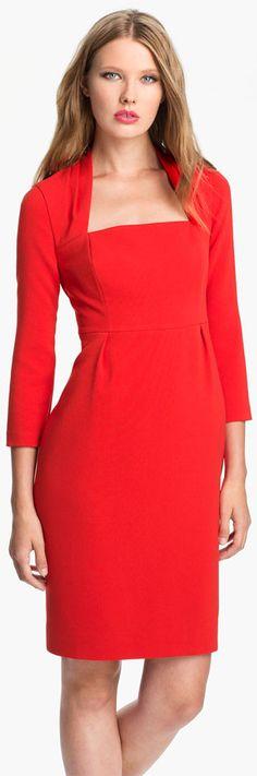 Kate Spade New York Shiella Woven Sheath Dress