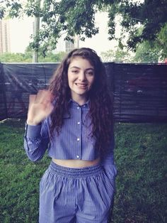 Lorde - here she totally looks her age.