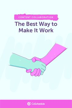 Content Collaboration: The Best Way to Make It Work Content Marketing Strategy, Marketing Tools, Social Media Marketing, Make It Work, How To Make, Marketing Calendar, Collaboration, Letters, Good Things