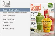PiGu Couponing: Better than Free Good Housekeeping and Woman's Day...