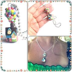 Fun Gifts UP House Charm Necklace Carl & by PiperPixieDesigns