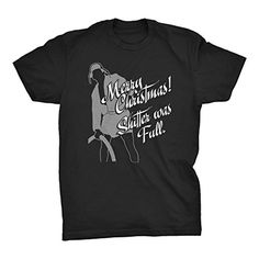 69dbf5c196a Merry Christmas Shitter Was Full - EDDIE - Funny Ugly Sweater - T-SHIRT -