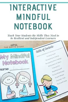 Teach your students how to self reflect on what makes them happy and self regulated. #mindfulness #mindfulnessactivities #classroommanagement