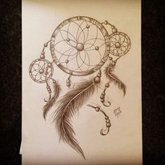 #art #burntblack #customart #customdesign #customtattoo #customtattoodesign #drawing #dreamcatcher #dreamcatchertattoo #ink #sketch #tattoo #tattooart #tattoosketch #tattoodesign - Fingers crossed, I really wanna tat this...