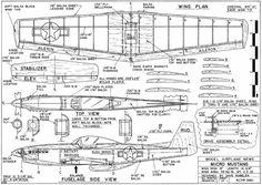 ผลการค้นหารูปภาพสำหรับ aeromodelismo planos