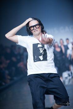 Denis Gagnon, the man himsef - Montreal Fashion Week Fall 2012 -Buzz Jeans Blog