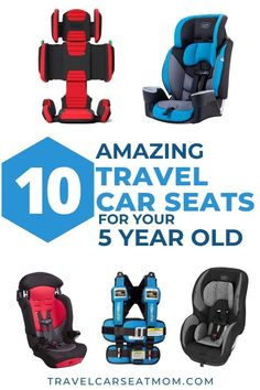 Taking a family vacation soon? Find the best car seats and booster seats for 5 year olds to take on your family trip - lightweight and easy to use. CLICK to find detailed information on what to look for and the pros and cons of each option, all written by a CPST and world-travel expert. SAVE for later and share with your friends! | travel with kids flying with a 5 year old | family travel | best car seat for travel | best travel booster seat Best Booster Seats, Best Car Seats, Toddler Travel, Travel With Kids, Family Travel, Travel Expert, Travel Tips, Travel Hacks, Travel Essentials