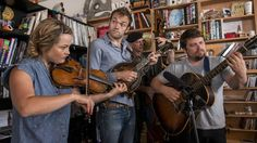 VIDEO: ♫ Nickel Creek was made to sing and play around a single microphone, so a Tiny Desk Concert seemed inevitable. All it took was a reunion tour — celebrating 25 years of Nickel Creek — to make it happen. ♫