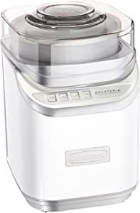 2-quart capacity Improved paddle with faster processing time Control panel with 3 settings with multiple speeds Ingredient spout with integrated measuring cup Limited 3-year warranty Ice Cream Maker Reviews, Best Ice Cream Maker, Electric Ice Cream Maker, Make Ice Cream, Homemade Ice Cream, Yogurt Ice Cream, Frozen Yoghurt, Ice Cream Maker Machine, Icecream Machine