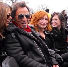 Bruce Springsteen, Patti Scialfa, Jessica