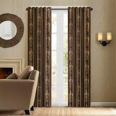 Madrid Faux Silk Embroidery Window Curtain 21,99
