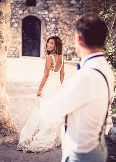 Beautiful wedding with pastel tones Jean Baptiste, Greece Wedding, Real Weddings, Wedding Day, Pastel, Wedding Dresses, Inspiration, Beautiful, Fashion