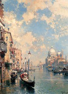 Le grand canal de Venise - (Franz Richard Unterberger)