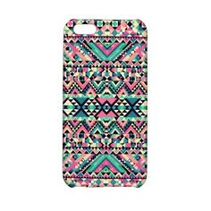 Pink Turquoise Girly Aztec Andes Tribal Pattern Iphone 5c Case ($30) ❤ liked on Polyvore featuring accessories, tech accessories, tribal pattern iphone case, pink iphone case, iphone cases, iphone tribal case and apple iphone cases