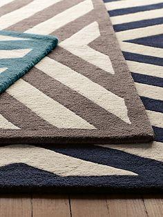 loving this rug pattern