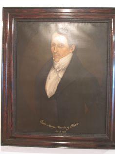 Luis Garcia Hevia  Bogotá Cundinamarca 1816-1887  Juan Maria Pardo y Pardo  1837 Oleo sobre tela.