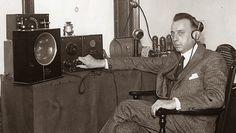 Oyente de radio, 1920.