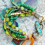 Exotic Emerald Bracelet by XO Gallery Jewelry
