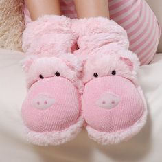Aroma Home USA   Fun for feet slipper socks pig Fun for feet slipper socks range