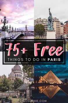 FREE PARIS: Looking for budget things to do in Paris? here's your ultimate guide to the best and top free attractions and things to do in the French capital city of France
