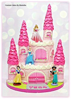 princess castle cake!