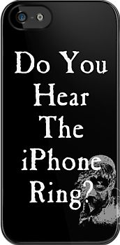 Do You Hear the iPhone Ring? Perfect for the Les Mis nut at my house!