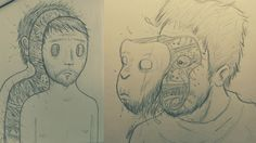 Concept Art, Drawing, Illustration