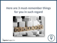 Some useful things to remember before going for Diabetes Treatment.