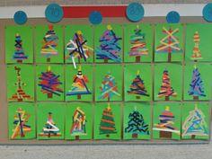 Kerst knutselen Christmas Art For Kids, Christmas Projects, Christmas Time, Christmas Cards, Merry Christmas, Advent, Winter Activities, Art School, December