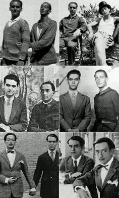 There are rumors of Federico Garcia Lorca and Salvador Dali being in a secret relationship. Robert Mapplethorpe, Writers And Poets, Annie Leibovitz, Richard Avedon, Andy Warhol, Salvador Dali Art, Pier Paolo Pasolini, Bert Stern, Book Writer