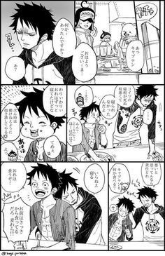 One Piece Meme, One Piece Ship, One Piece Comic, One Piece Fanart, One Piece Luffy, Anime Funny Moments, Trafalgar Law, One Piece Images, Monkey D Luffy