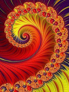 Arte Fractal, Espiral, Matemáticas, Genera, Algorítmica