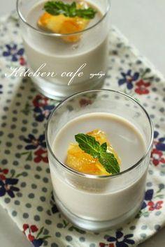 「アールグレイミルクブラマンジェ」uzukaji | お菓子・パンのレシピや作り方【corecle*コレクル】