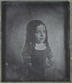 Eduard Isaac Asser | Portrait of the Photographer's Daughter Charlotte Asser, Eduard Isaac Asser, c. 1842 |