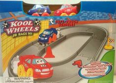 Kool Wheels Jr Race and track set Soft Touch for ages 3+ new in box  | eBay