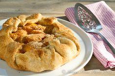 Lidia B's  Free Form Peach Crostata
