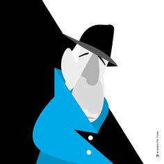 Goodbye Mr Cohen. Famous blue Raincoat / 1971 / Leonard Cohen. #illustration #illustrator #leonardcohen #blue #raincoat #song #music #illustrated #playlist #inspiration #creativity #picame #art #visualart #graphicdesign Blue Raincoat, Leonard Cohen, My Works, Illustrator, Creativity, Batman, Singer, Graphic Design, Superhero