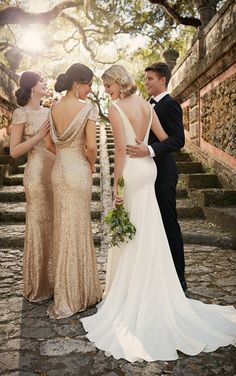 Modern Classic Wedding Dresses | Essense of Australia