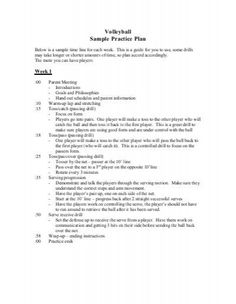 Volleyball player evaluation form google search volleyballin image result for sample volleyball practice plan maxwellsz