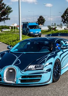 Bugatti Veyron Super Sport Saphir Bleu