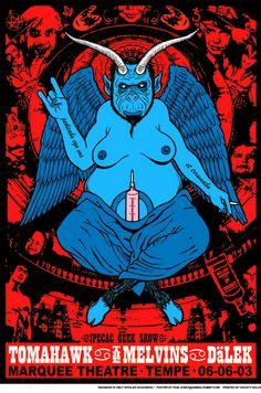 Tomahawk/The Melvins/Dälek